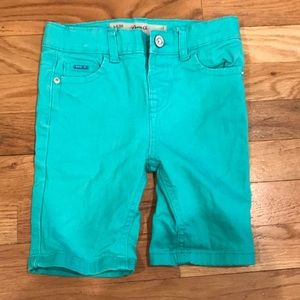 Other - Aqua Denim Shorts